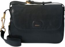 DKNY Flap Crossbody Shoulder Bag, Black
