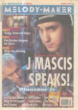 """(ANEW11) MELODY MAKER NEWSPAPER COVER PAGE 15X11"""" 16/1/1993 J MASICS"""