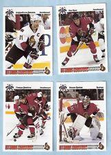 2009-10 Russian Bear Retro Ottawa Senators Team Set (8)