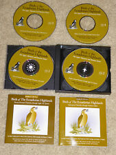 4 CD SET - Birds of the Ecuadorian Highlands, Upper Montane & Paramo Zones- EXC!