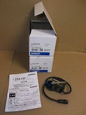 ZX2-LD100 Omron NEW In Box ZX2 Laser Sensor Head 100MM Diffuse Spot ZX2LD100