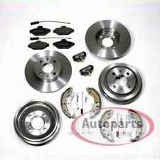 Fiat Punto Bremsscheiben Bremsen Set vorne Bremstrommel Satz Zubehör für hinten*