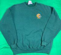 VTG Majestic Green Bay Packers NFL Crew Neck Sweatshirt Men's SZ 2XL Made In USA