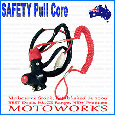 Stop SAFETY Pull Kill Switch PIT PRO PIT Trail Dirt Quad Bike ATV Dune Buggy