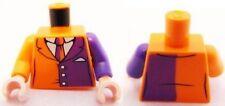 LEGO Batman - Torso Suit w/ Dark Purple Half Panel, Purple & Orange Arms