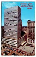 1962 First National Bank Building, Minneapolis, MN Postcard