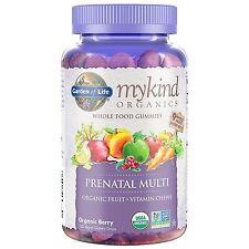Garden of Life Prenatal Gummy Vitamin - mykind Organics Gummy Multivitamin fo...