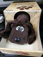 Vintage 1985 Pound Puppies Tonka #7805 Plush Dog Chocolate Brown in Original Box