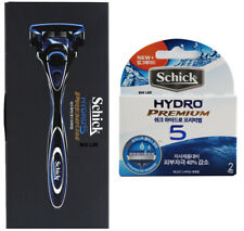 Schick Hydro Premium 5  Improved  1 Razor Handle + 3 Cartridges