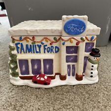 Vintage Ford Family Cookie Jar Antique Car Cookie Jar