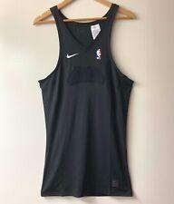 Nike NBA Pro Compression Basketball Tank Men's Size XL Tall Black 880805-010