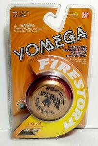 Vintage 1999 YOMEGA FIRESTORM Yo-Yo Ultra Cool Transaxle Advanced Level 2 Red