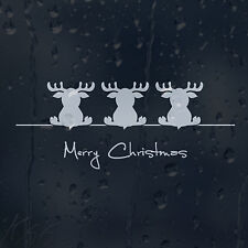 Merry Christmas Dear Car Decal Vinyl Sticker For Bumper Window Panel Wall