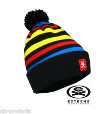 Mens or Ladies EXTREME Winter Thermal Beanie Bobble Hat Ski Snowboard Colourful