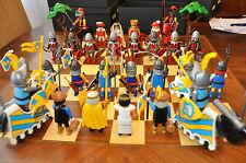 Jeu d'échecs playmobil - Série médiévale - Bataille de Castillon (4)