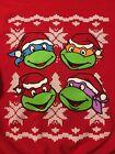 Teenage Mutant Ninja Turtles Ugly Christmas Sweater / TMNT Xmas Sweatshirt