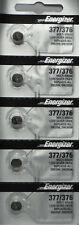 5 x Fresh ENERGIZER Silver Oxide WATCH Battery 1.55v CR376 CR377 CR 376 377