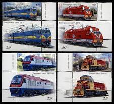 Lokomotiven. 4W+4Zf (Senkrecht). Ukraine 2010