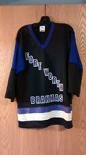Fort Worth Brahmas SGA Hockey jersey Youth Large (14-16)