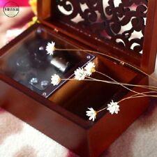 Anastasia Rectangle Wood Carving { Dance Ballerina Dance } Jewelry Music Box
