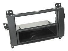 1-Din Radio Faceplate with Storage Shelf Mercedes-Benz A B Class, Viano, Vito,