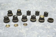 Orig. Fisher 400 500 800 Receiver Knobs, LOT A ~ 5 solid 2 split 1 base 3 tuning