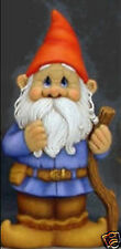 Ceramic Bisque Ready to Paint Papa Bertie Gnome Great for Gardens 16 inches tall