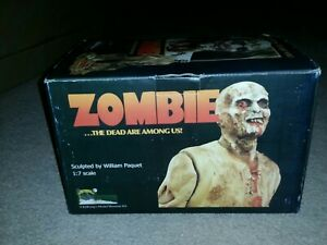 Zombie full figure resin model Lucio Fulci Kitkong William Paquet 1/7 painted