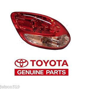 2003-2006 Genuine Toyota Tundra Stepside Left Rear Tail Light Taillight Lamp  OE