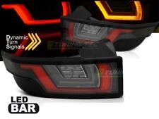2 Fari Posteriori LED Land Range per Rover Evoque dal 2011-Rossi Bianchi Neri IT