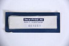 "TECA-Print #601051 Tampondruck Arzt Blades-Pack 5 - 3.8125"" x .5"""