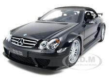MERCEDES CLK DTM AMG CABRIOLET BLACK 1:18 DIECAST MODEL BY KYOSHO 08462