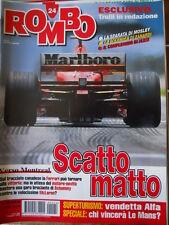 ROMBO 24 1999 Superturismo Vendetta ALFA - Intervista a Jarno Trulli - Alex Zana