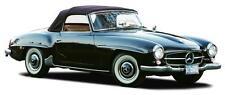 Mercedes W121 190SL Blue OEM German Convertible Top 1955-1963