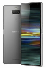 "Sony Xperia 10 Plus I3223 6.5"" 64GB Dual Camera Factory Unlocked  4G LTE SILVER"