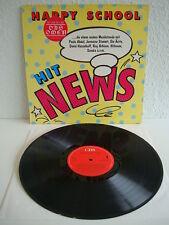 """Die Ärzte u.a. - Happy School Hit News   Inkl. """"Zu spät""""-Mix   LP: Near Mint"""