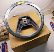 NOS Mopar 1984 85 86 Chrysler Plymouth Dodge BLUE LEATHER WRAPPED STEERING WHEEL