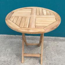 Teak Round Patio & Garden Tables