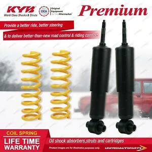 Front KYB PREMIUM Shock Absorbers STD King Springs for FIAT 124 I4 RWD
