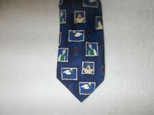 Tie Novelty Cartoon Wallace & Gromit Shaun Characters Faces Rectangles