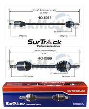 For Honda Prelude FWD Pair of Front CV Axle Shafts SurTrack Set Automat.Trans.