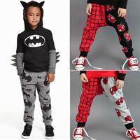 enfants costume bébé garçon tout-petit SPIDERMAN Pantalon sarouel bas en vrac