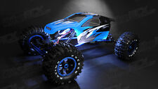 Exceed RC 1/8 2.4Ghz Mad Torque RC Rock Crawler Ready to Run BLUE w/ LED Lights