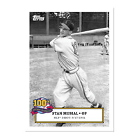 Stan Musial 100th Birthday Celebration Card 1 St. Louis Cardinals