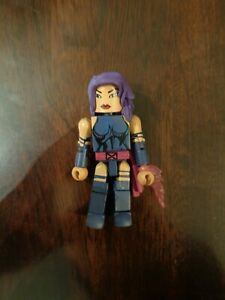 Marvel Minimates - Psylocke - Wave Series 28 - X-Men action figure