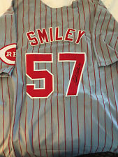 Reds John Smiley signed Jersey WCOA