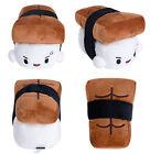 "Sushi Plush Pillow 6"" Cushion Doll Toy Japanese Food Gift Bedding Cute Decor"
