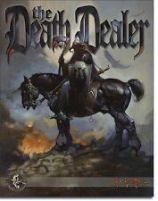The Death Dealer TIN SIGN Knight Fantasy Metal Poster Wall Art Decor
