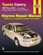 1997-2001 Toyota Camry Avalon ES300 99-01 Solara Repair Service Shop Manual 4048