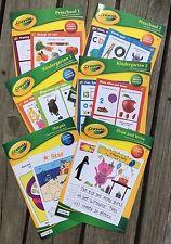 Crayola Early Skills Workbooks Set of 6 Preschool Kindergarten Home School